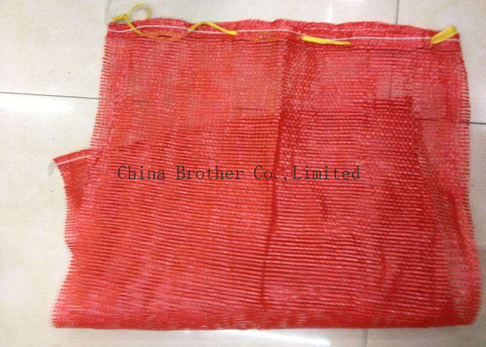 Heavy Duty Poly Mesh Bags For Produce , Polypropylene Mesh Fruit And Vegetable Bags