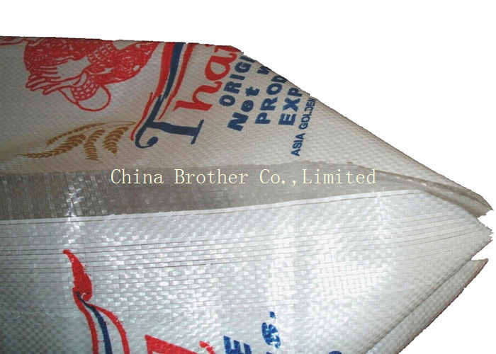 Big Woven Polypropylene Sacks , Polypropylene Packaging Bags For Sand Construction Trash
